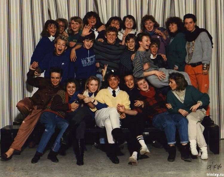 Як виглядали школярі середини 80х (9 фото)