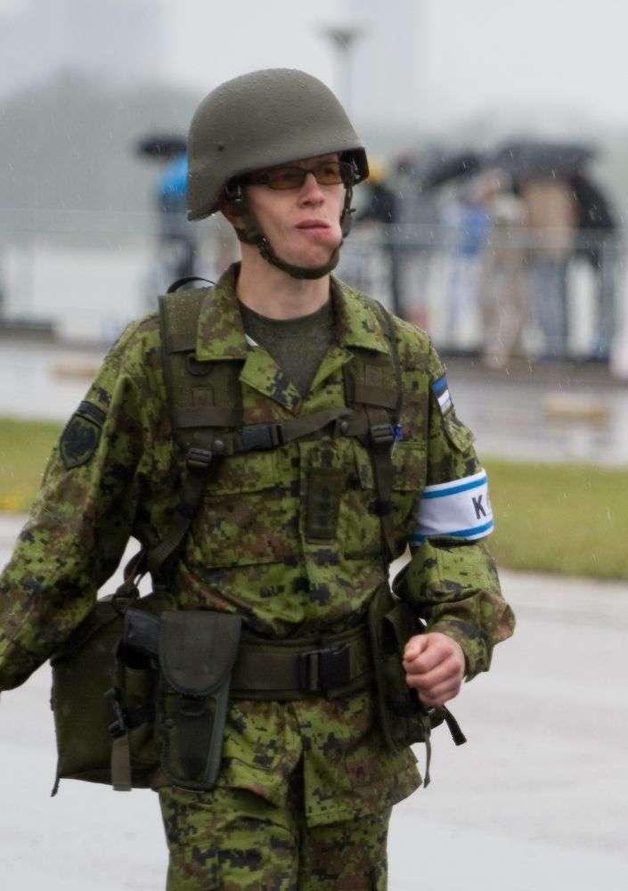 Естонська армія на параді (8 фото)