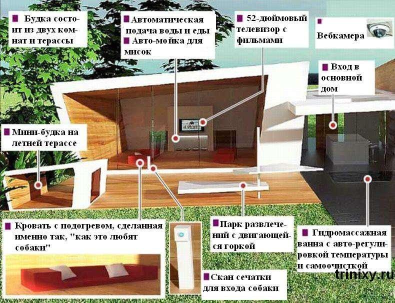 Найдорожча собача будка в світі (4 фото)