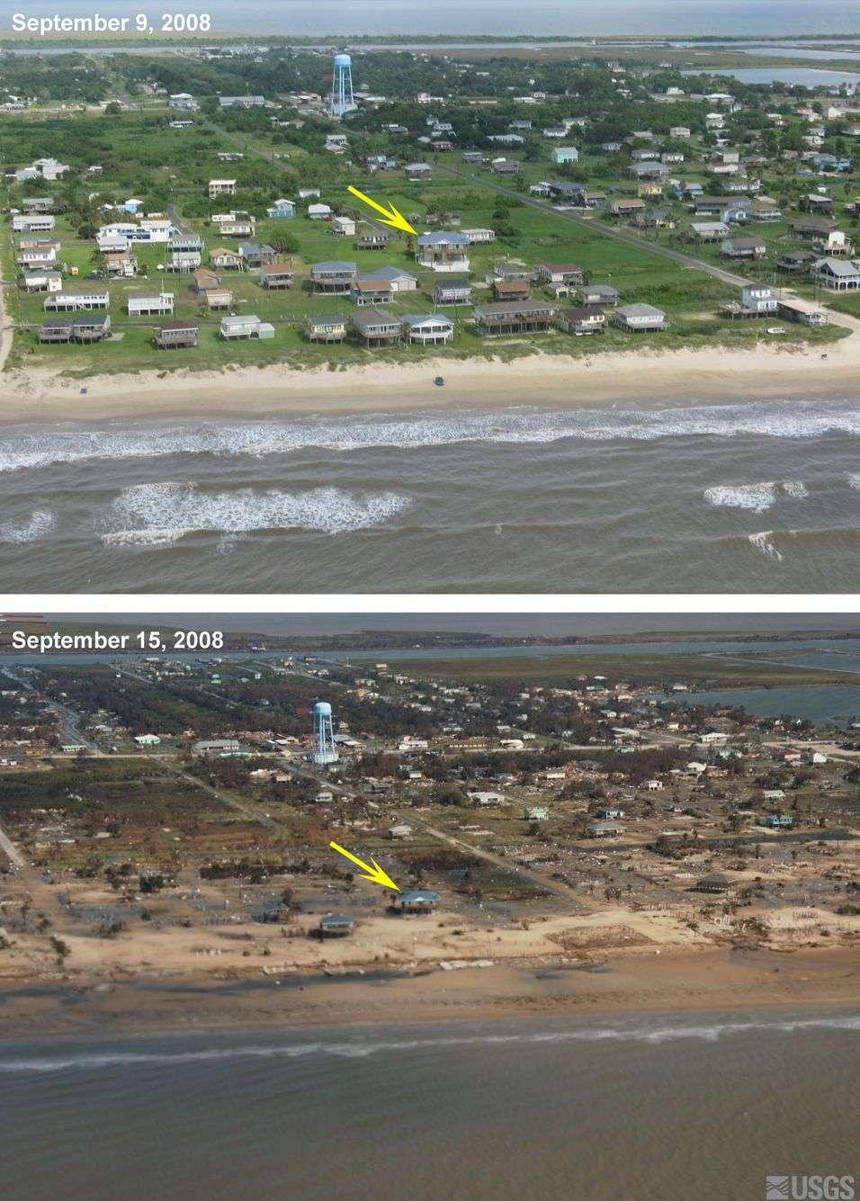 Ураган Айк. До і після (8 фото)