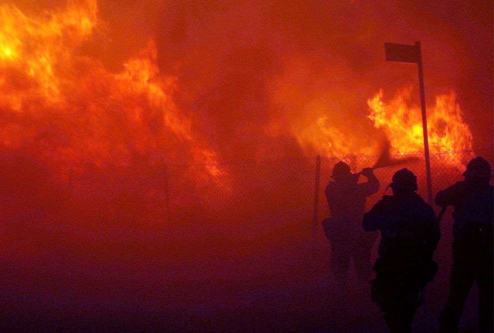 Пожежі в Каліфорнії (35 фото)