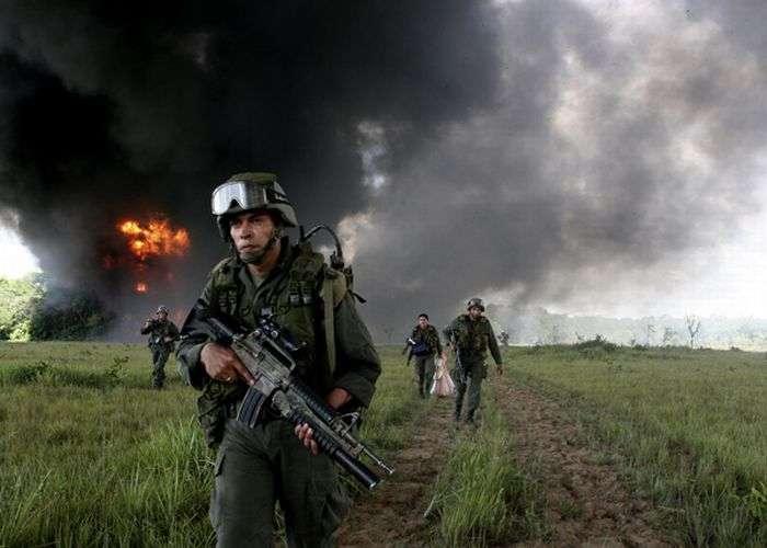 Війна з наркокартелями в Колумбії (24 фото)