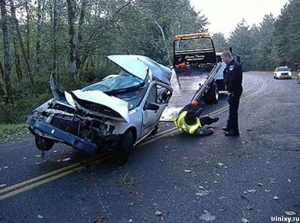 Аварія в Орегоні (12 фото)
