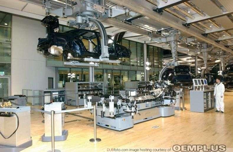 Завод Volkswagen в Дрездені (21 фото)