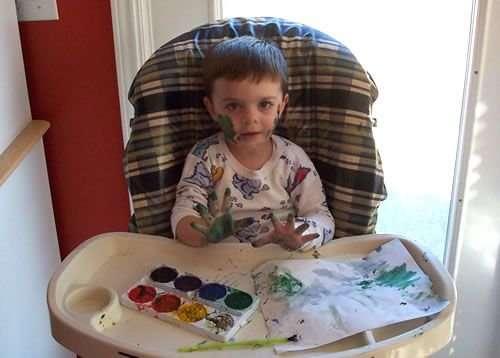 Діти і фарба (14 фото)