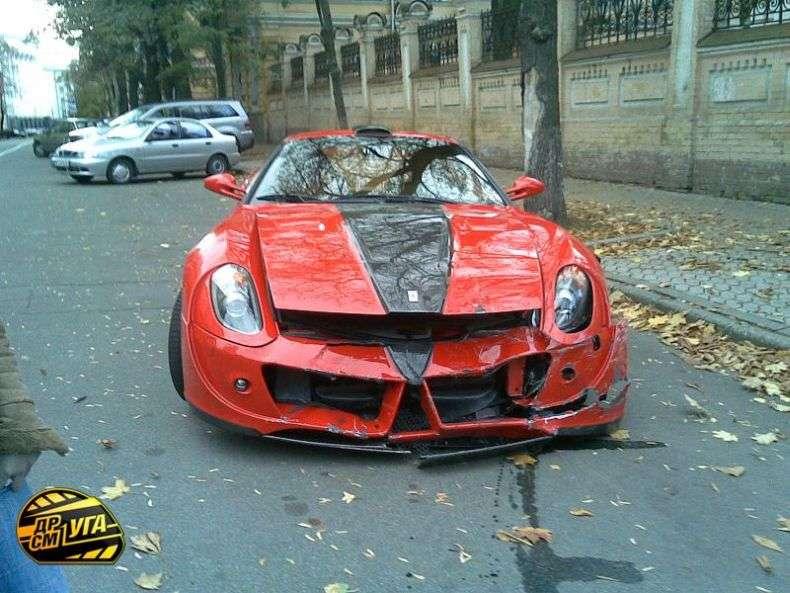 Аварія в Києві (14 фото)