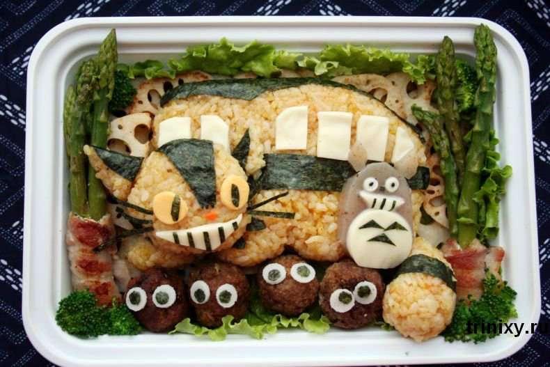 Креативна їжа (44 фото)