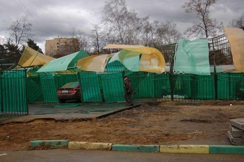 У Москві почалася зима (12 фото)