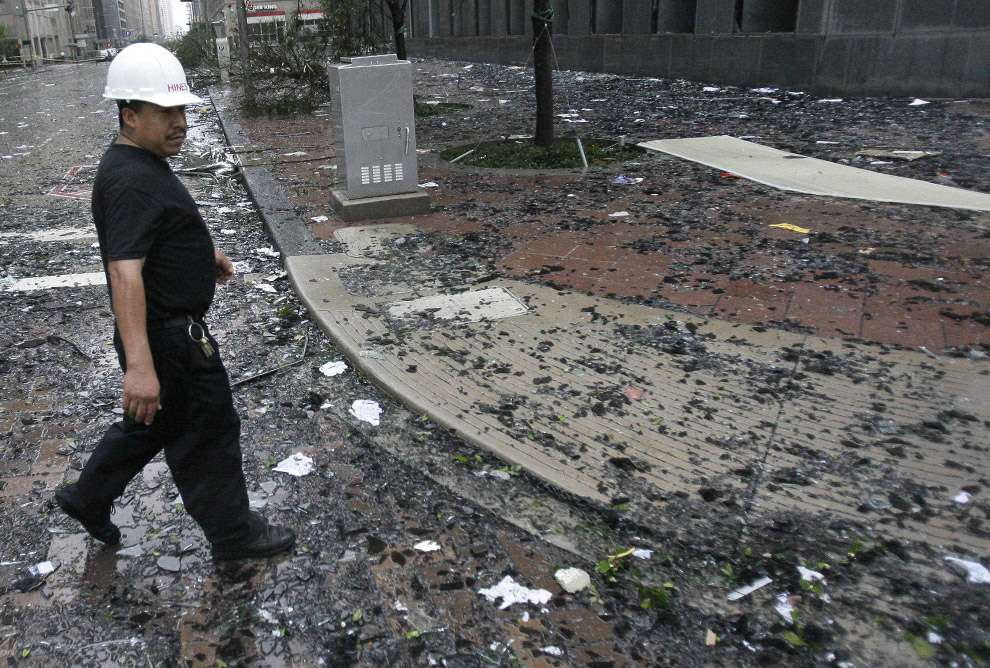 Наслідки урагану Айк (28 фото)