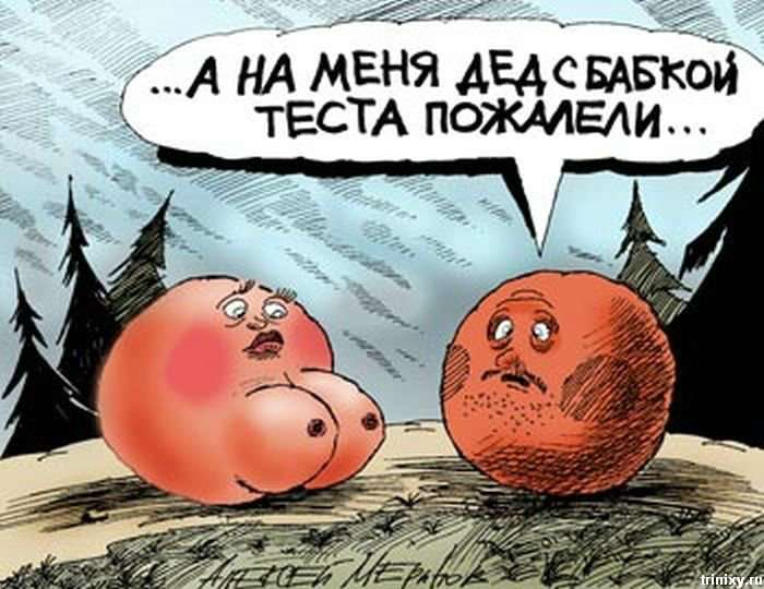 Карикатури Олексія Мерінова (81 фото)