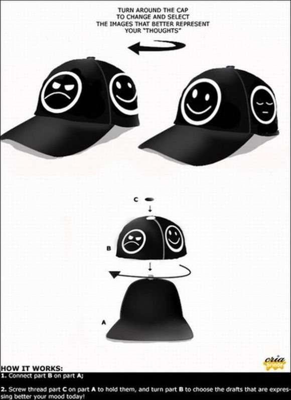 Класні кепки (32 фото)
