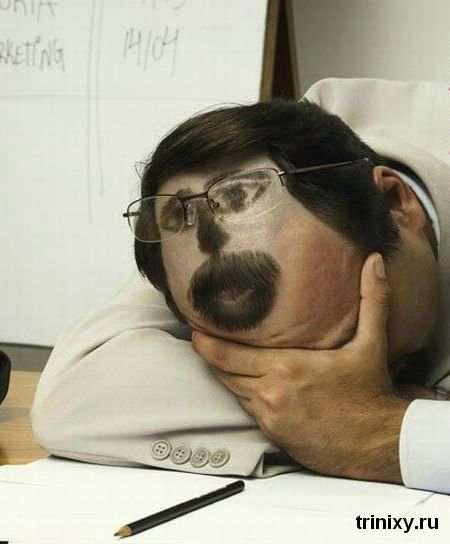 Особи на волоссі (6 фото)