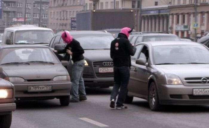 Акція в Москві (5 фото)