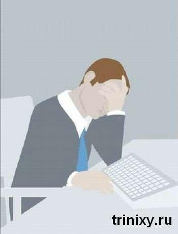 9 способів поспати в офісі (9 фото)