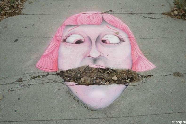 Класний вуличний креатив від Орбіта (3 фото)