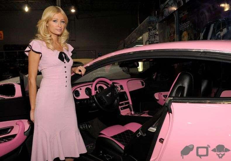 Новий Bentley Періс Хілтон (23 фото)