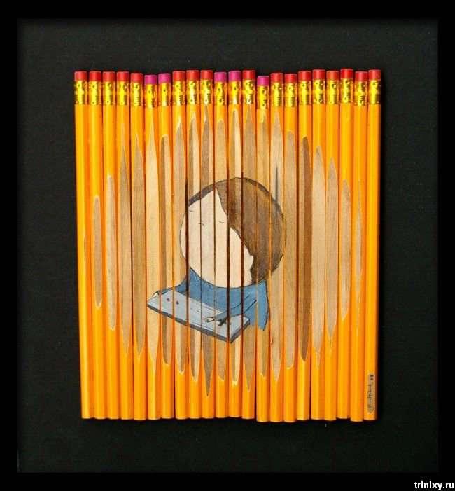 Класно. Малюнки на олівцях (19 фото)