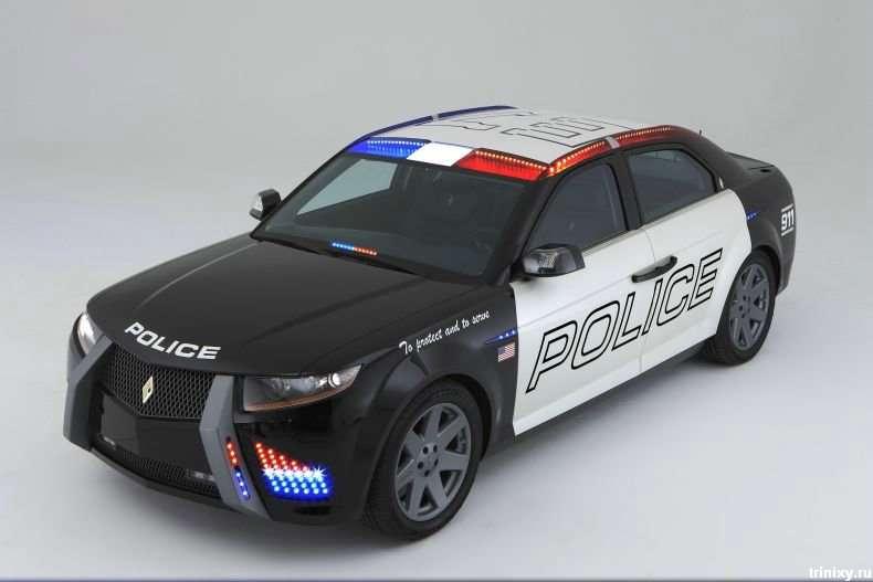 Нові машини американських поліцейських (14 фото)