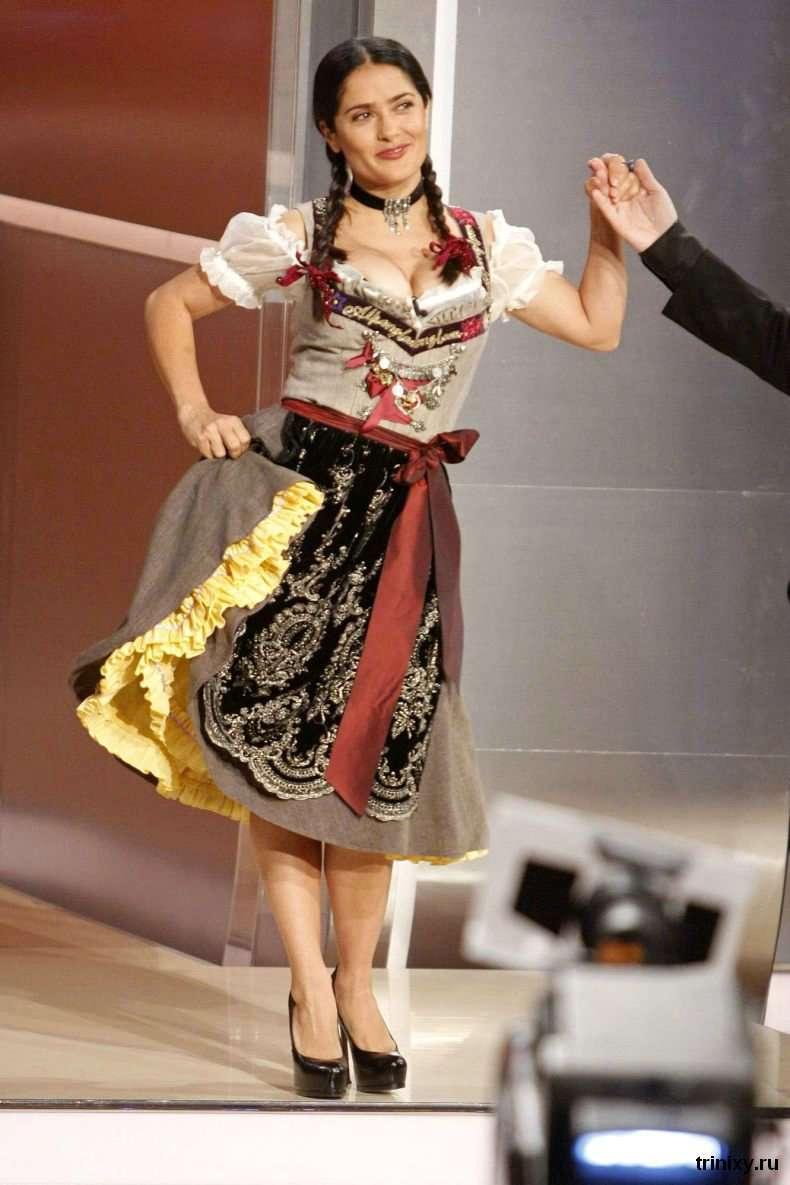 Сальма Хайєк німецькою ток-шоу (16 фото)