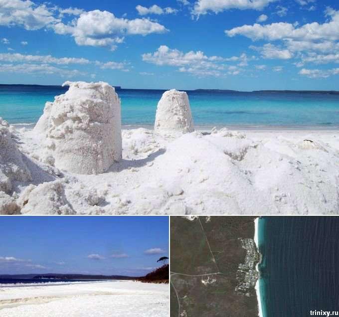 Пляжі з самим незвичайним піском (5 пляжів, 15 фото)