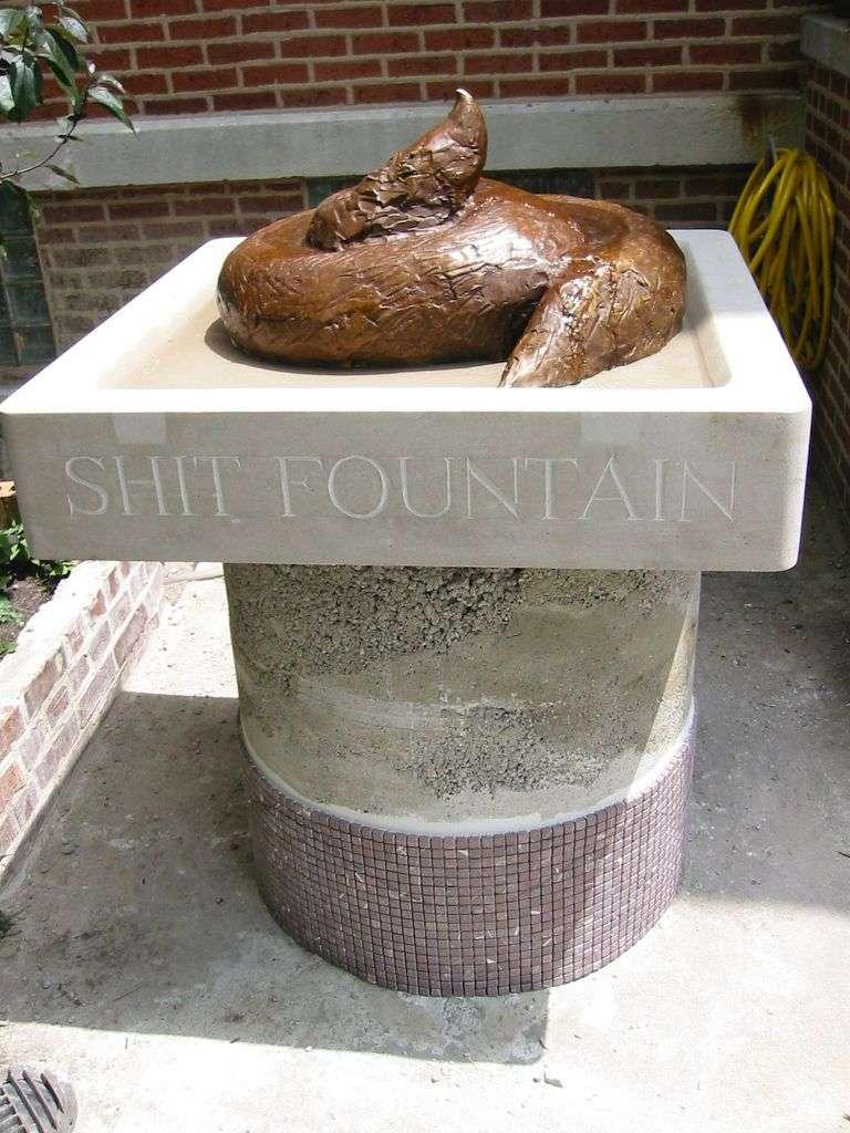 Shit Fountain (11 фото) НЕ ДИВИТИСЯ ПІД ЧАС ЇЖІ!
