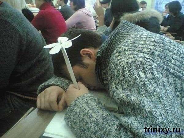 Студент спить - пара йде (67 фото)