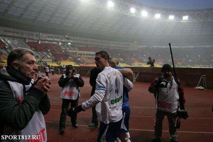 Після матчу Спартак - Зеніт (8 фото)