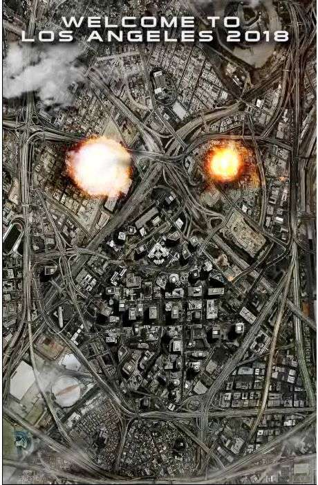 Реклама нової частини Термінатора (3 картинки)