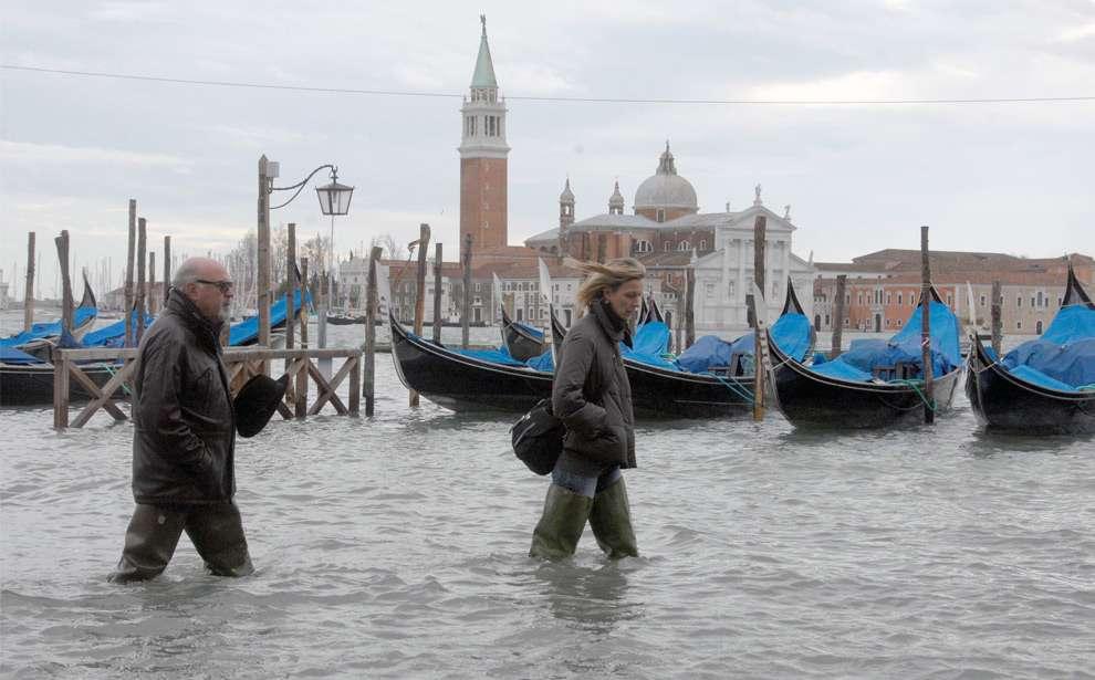 Венеція під водою. Частина 2 (25 фото)