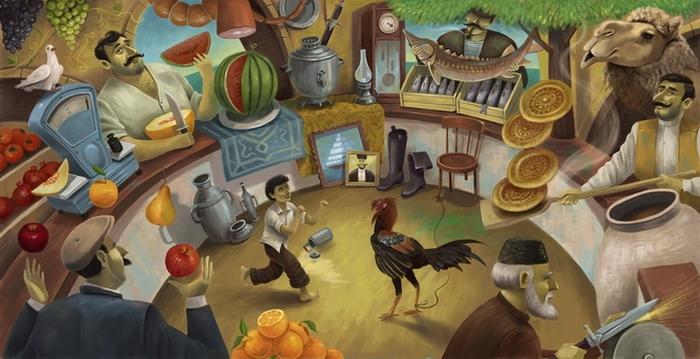 Этот безумный мир в ироничных рисунках иллюстратора Дмитрия Коротченко