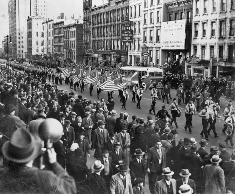 История о том, как американцы попросили еврейского гангстера Мейера Лански ликвидировать сторонников нацистов силой Познавательное