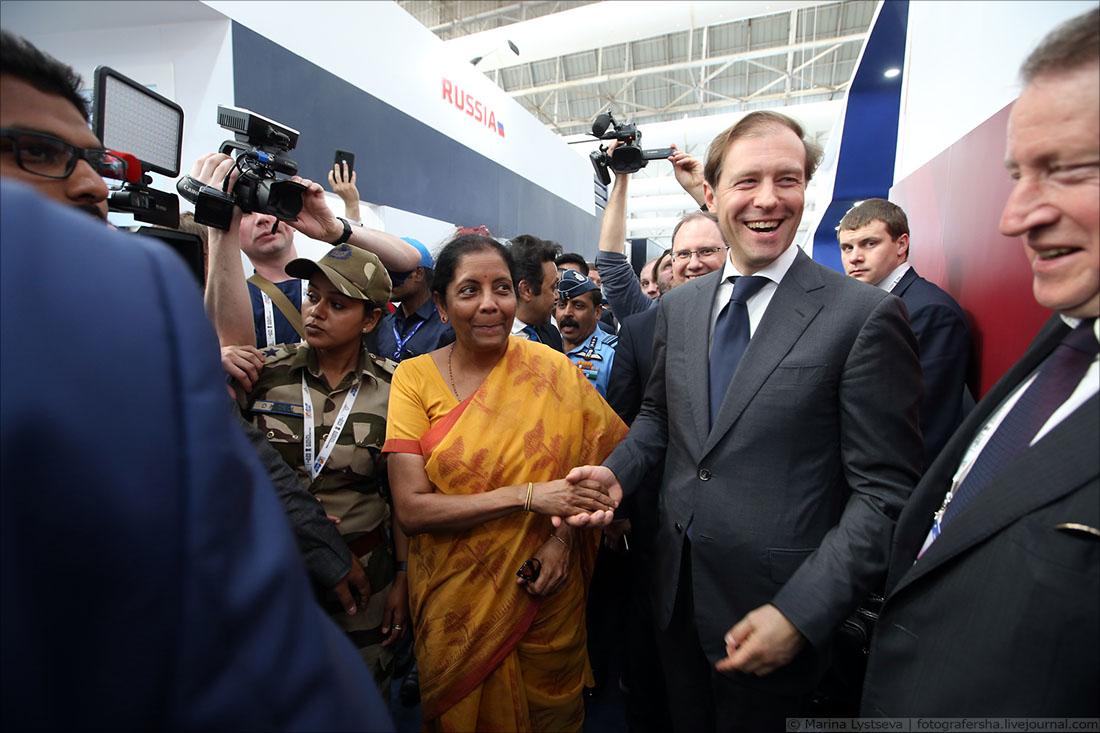 Авиасалон Аэро Индия-2019 открылся в индийском Бангалоре