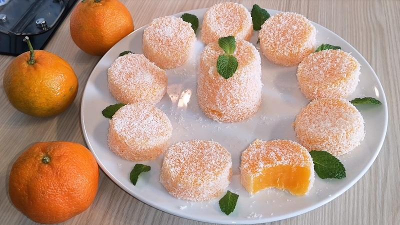 Как приготовить мандариновый рахат-лукум Кулинария