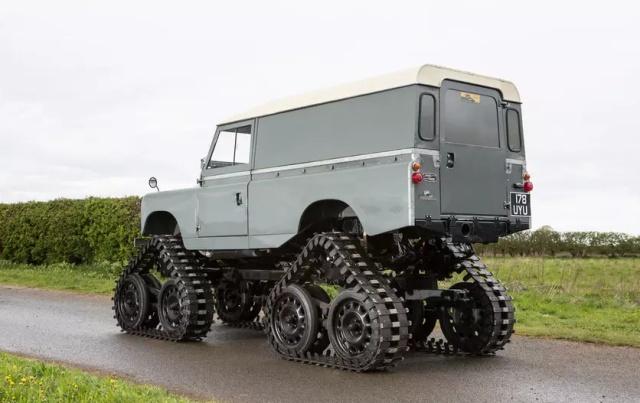 Необычный вездеход Land Rover Series II от Cuthbertson Авто