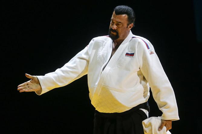 Стивен Сигал: тренинг айкидо в реальном бою культура