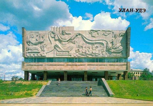 Улан-Удэ в 1988 году