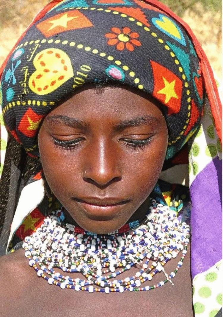 Почему Нуба — самое красивое племя Африки