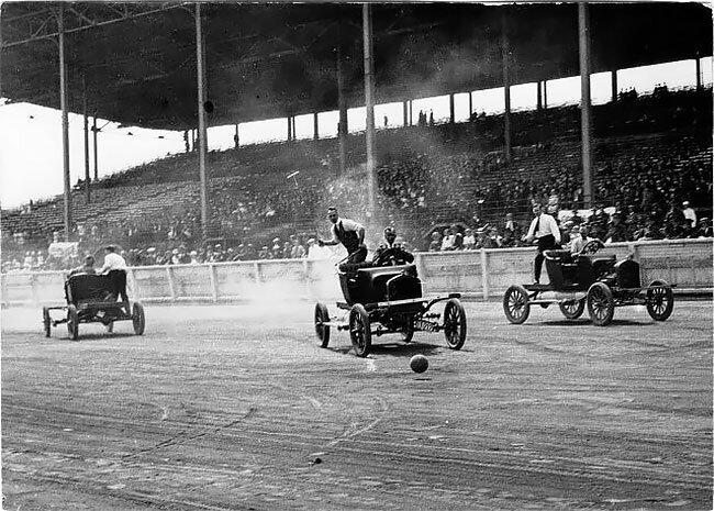 Автомобильное поло: опасная игра для джентльменов на колесах