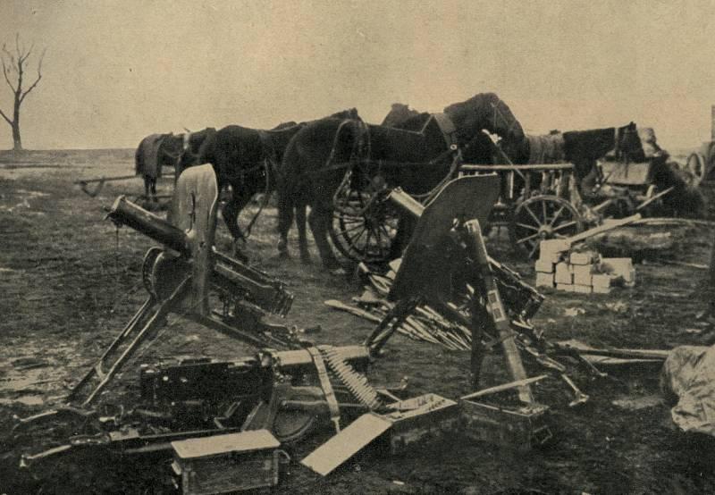 Семь пулемётов Лаишевского полка