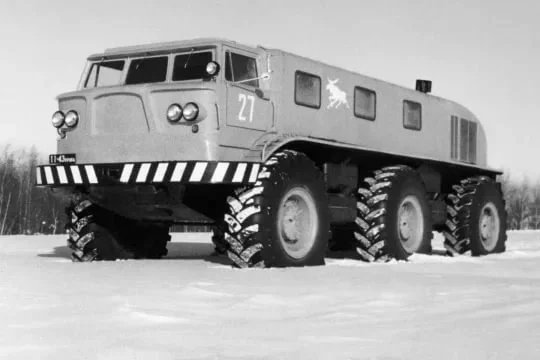Самые необычные грузовики Советского Союза, фото с испытаний