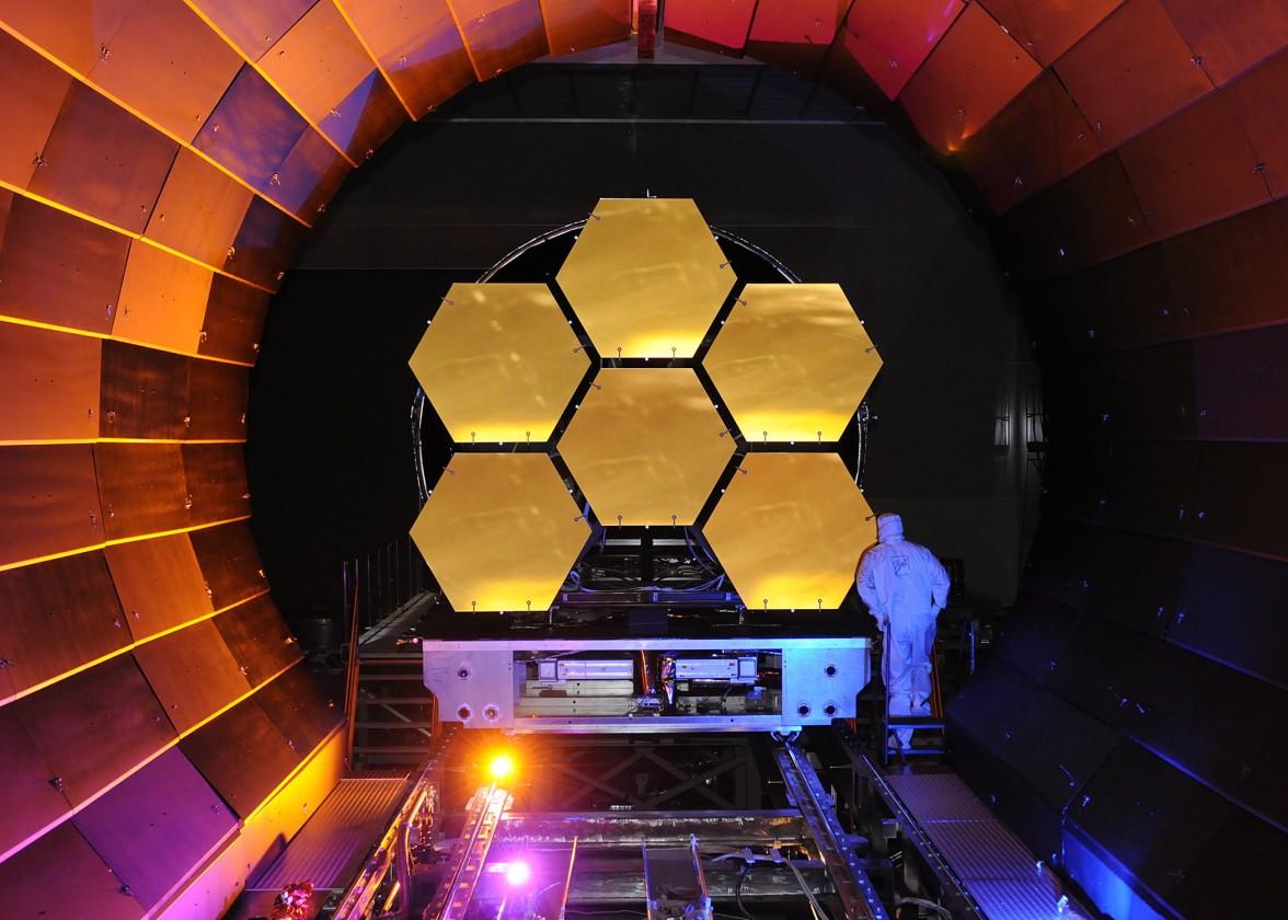 Как создавали телескоп «Джеймс Уэбб» техника