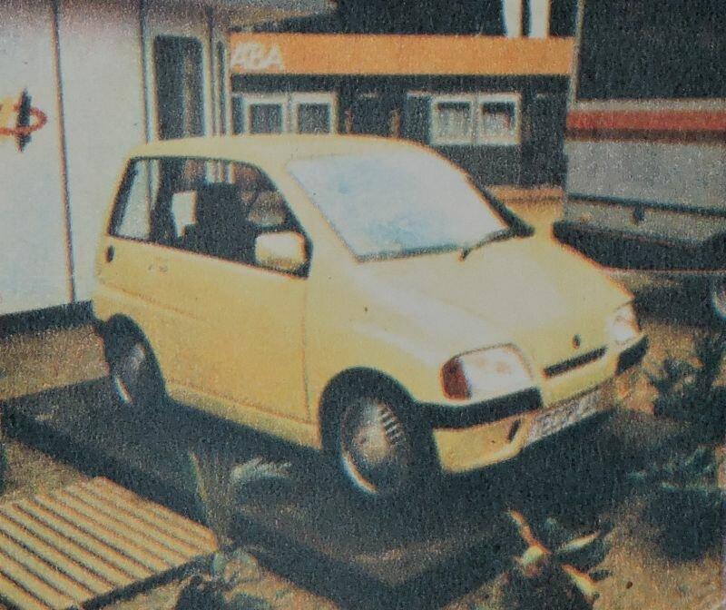 Каким мог стать самый маленький Икарус авто
