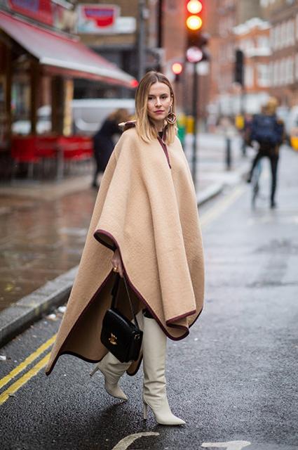 Неделя моды в Лондоне: street style Новости моды