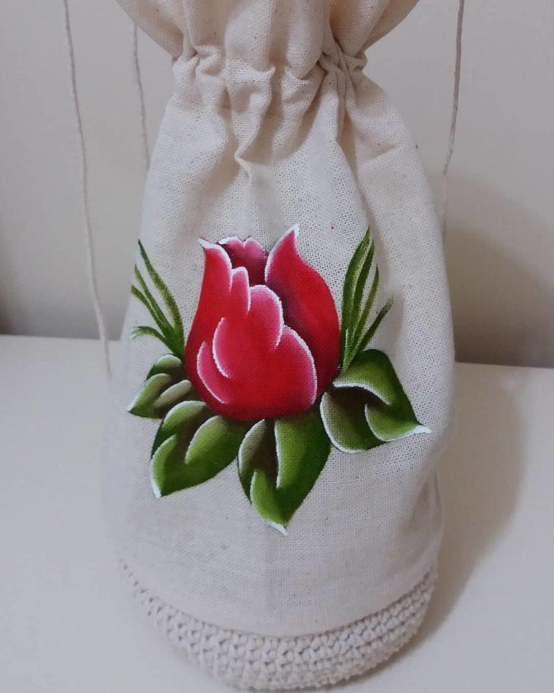 Роспись ткани вручную: уроки и красивые идеи для дома