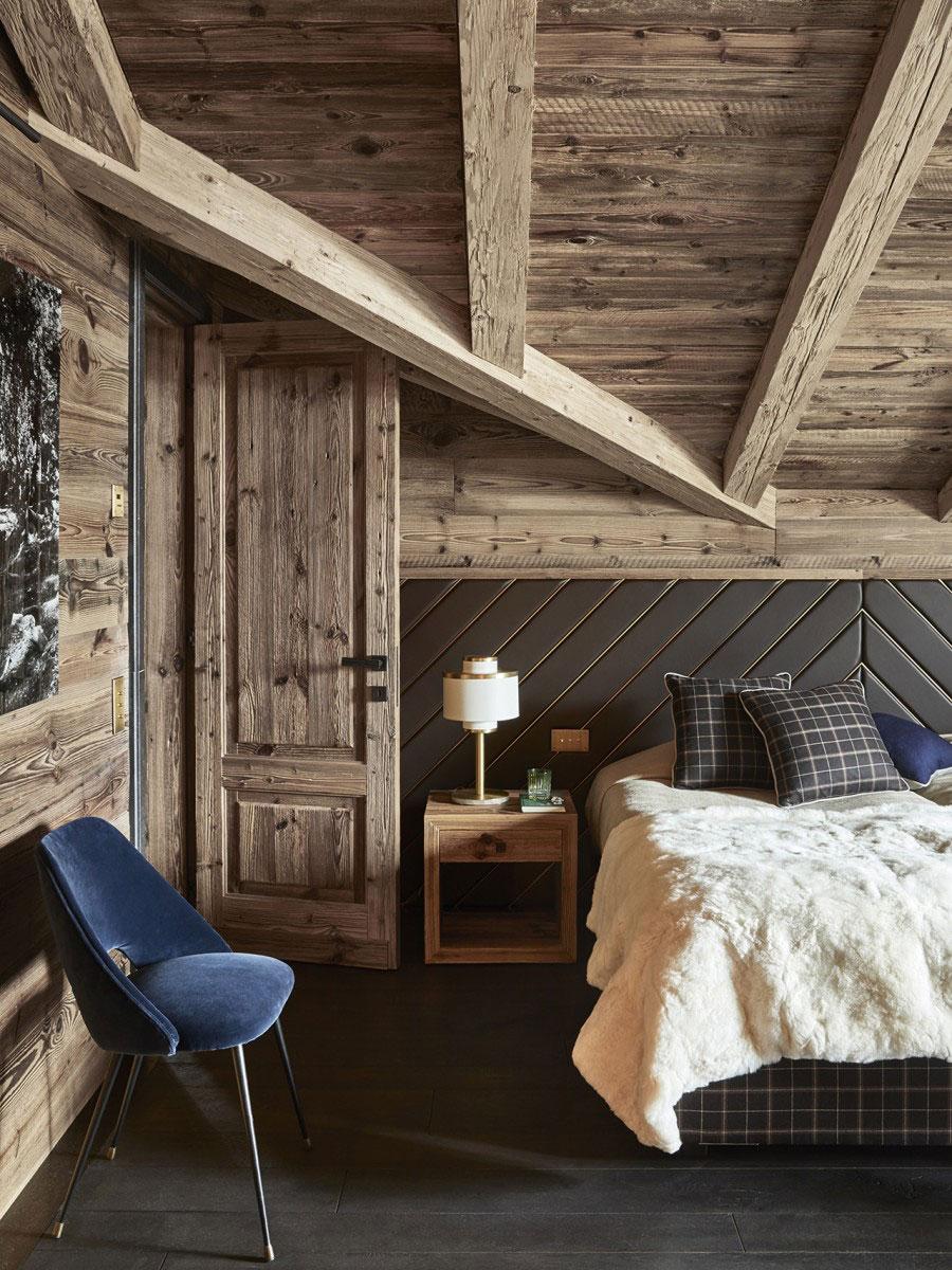Роскошное шале без альпийских клише в Швейцарии Альпы